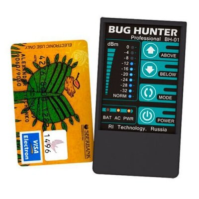 Детектор жучков BugHunter Professional BH-01 i4technology - Techyou.ru